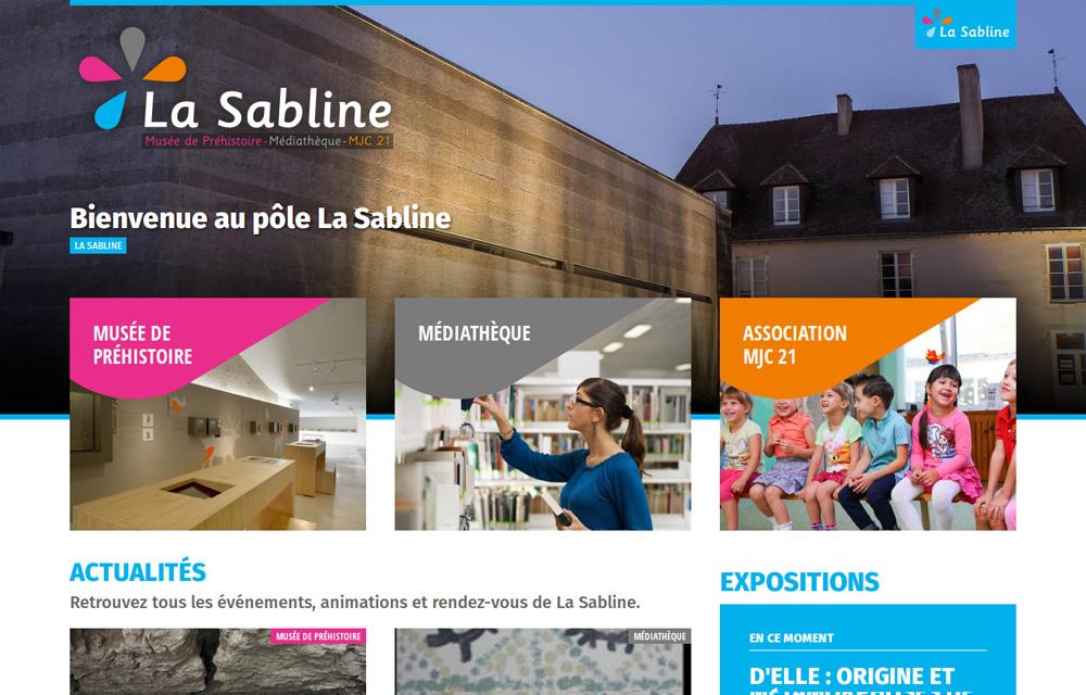 integration html site la sabline