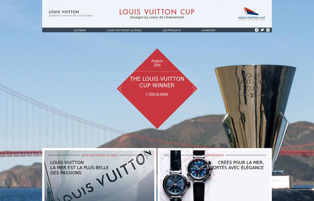 site web presentation